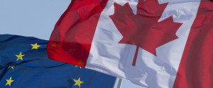 Canada Europe Flags
