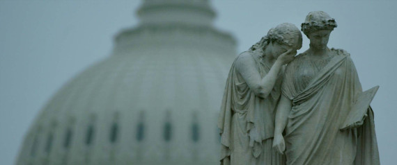 CRYING STATUE CAPITOL