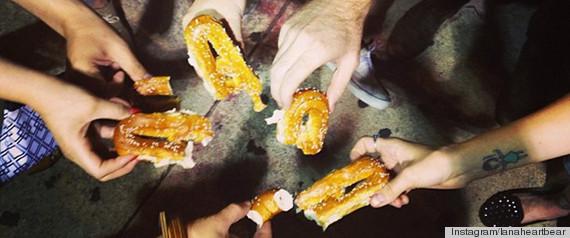 pretzel ride