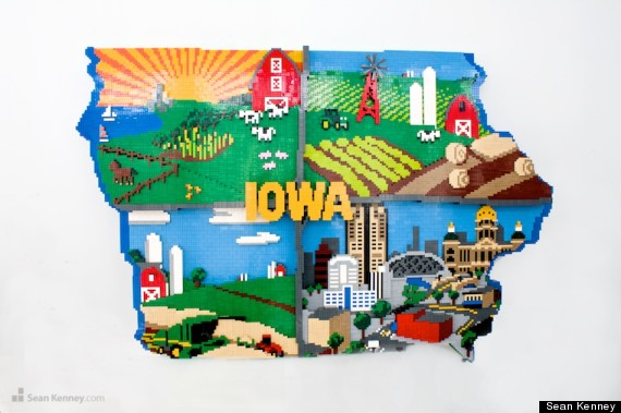 11 awesome lego facts that will make you want to break out for Iowa largest craft show