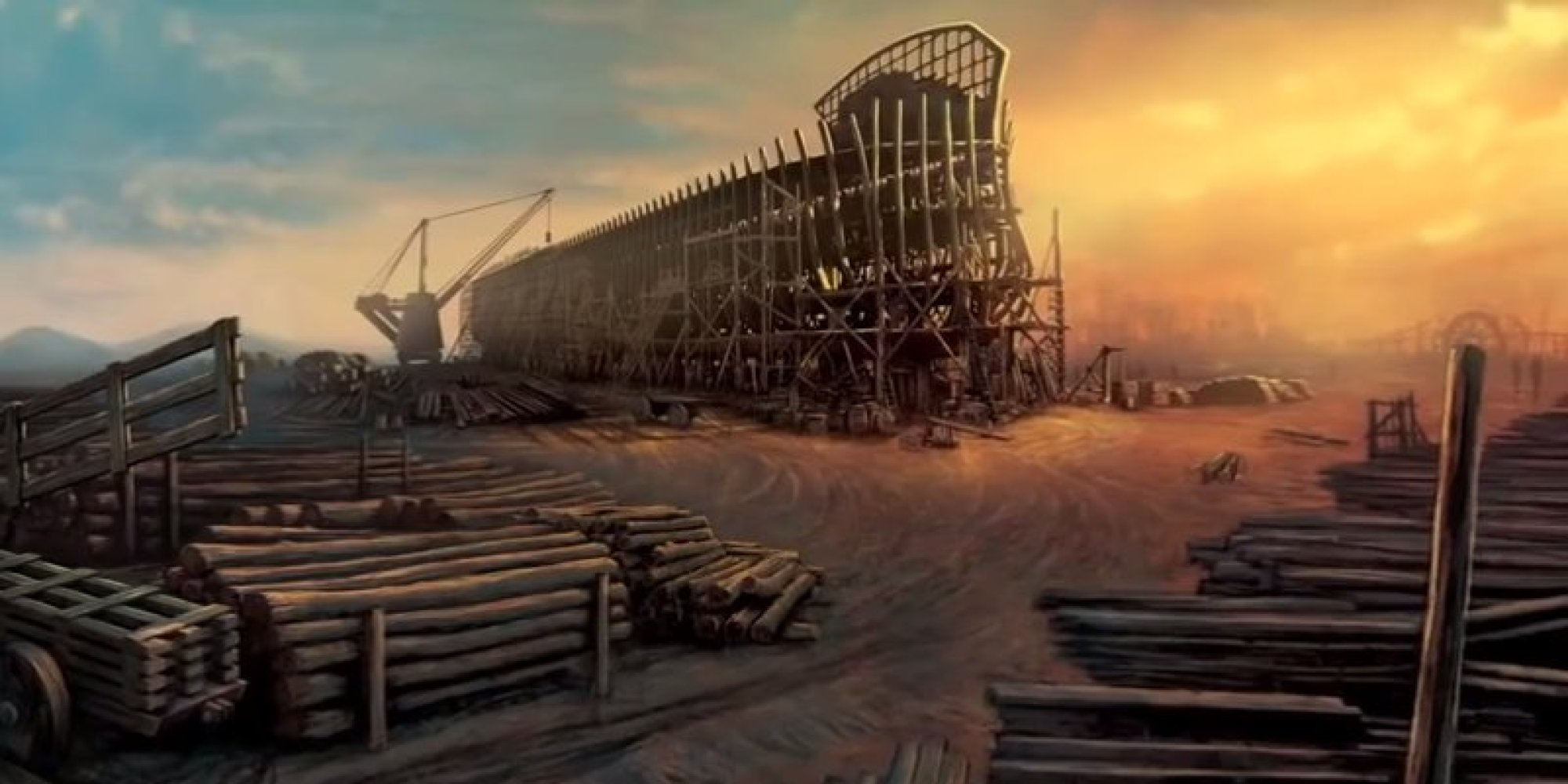 Ken Ham Can Now Build Noahs Ark Thanks To Bill Nye