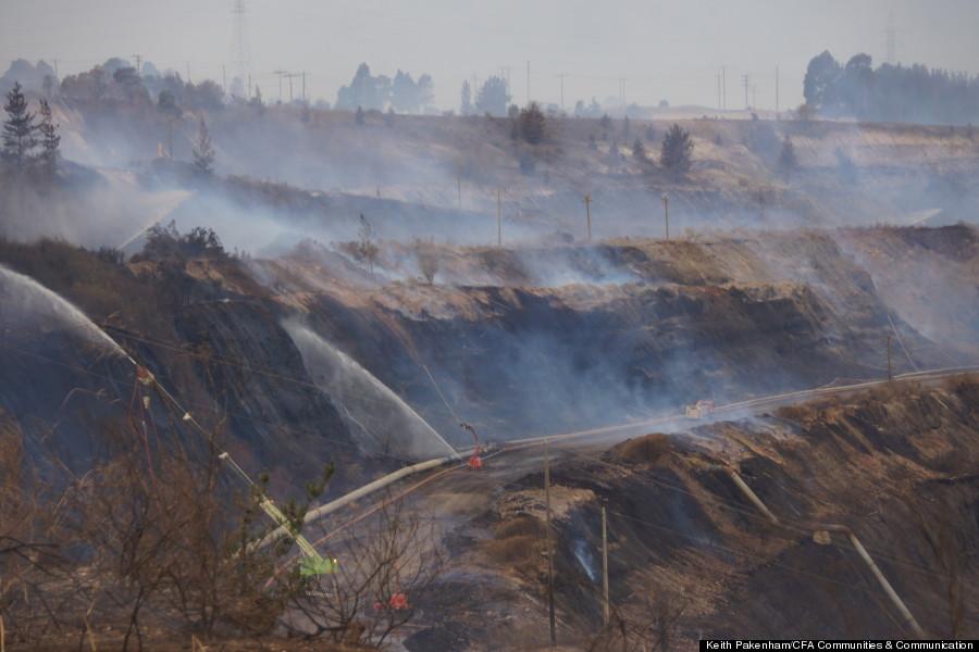 australia coal mine fire 6