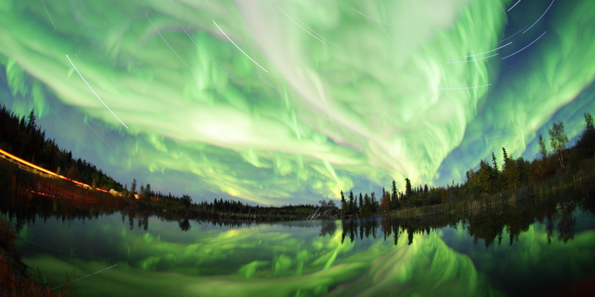Northern lights photos by yuichi takasaka are incredible
