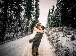 15 Wedding Photos To Make The Rest Of Winter Slightly More Bearable