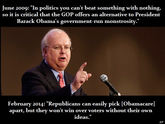 rove alternative obamacare
