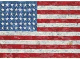 Jasper Johns Flag Crichton Auction