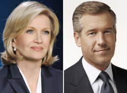Diane Sawyer Brian Williams