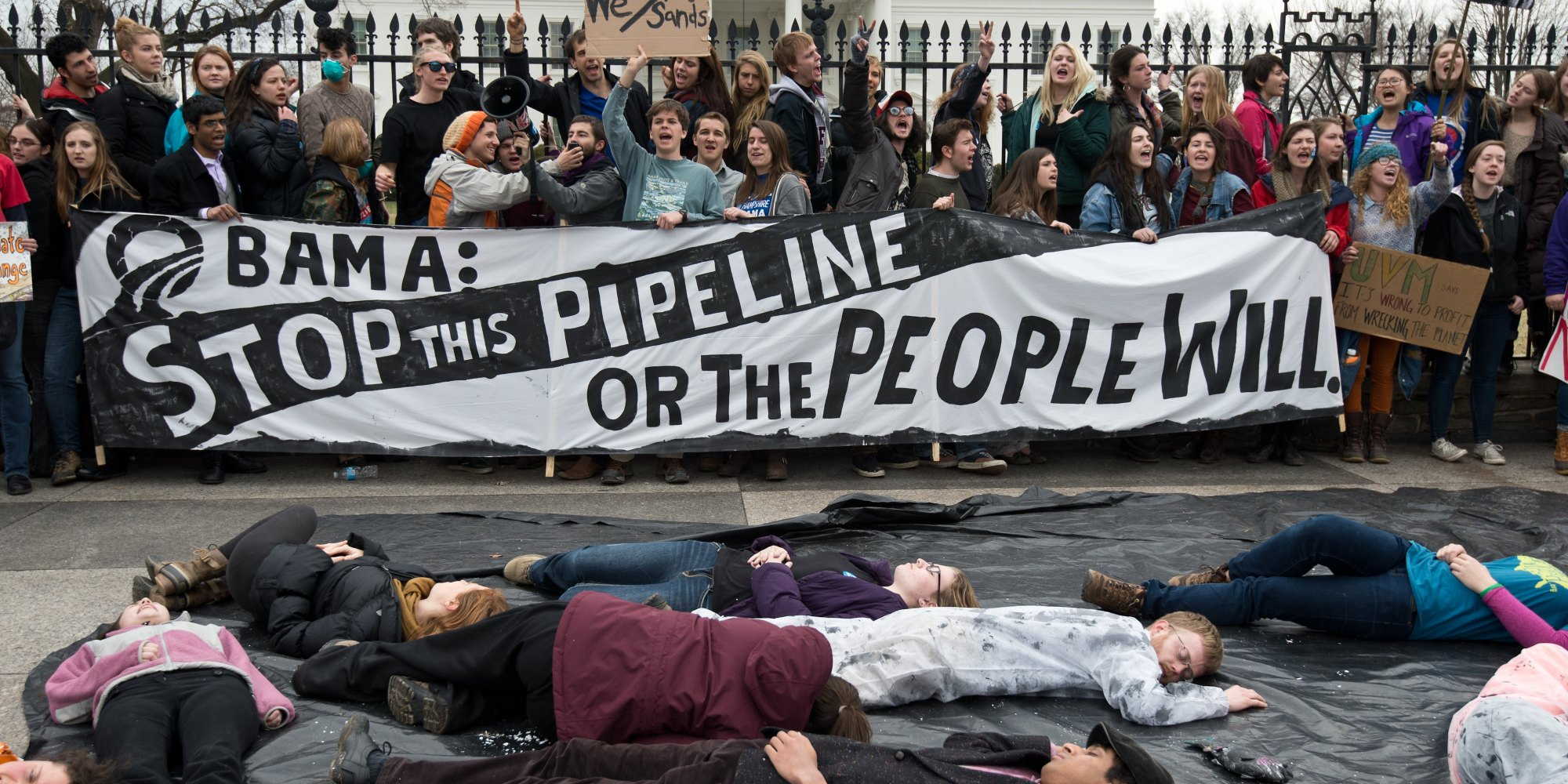 Image result for keystone xl protest