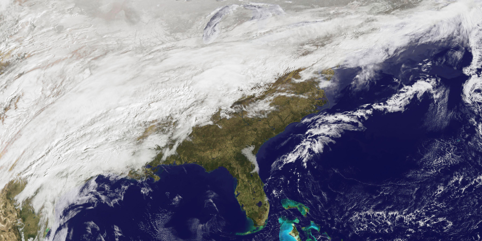 Massive Winter Storm System Pummels Central U S Heads