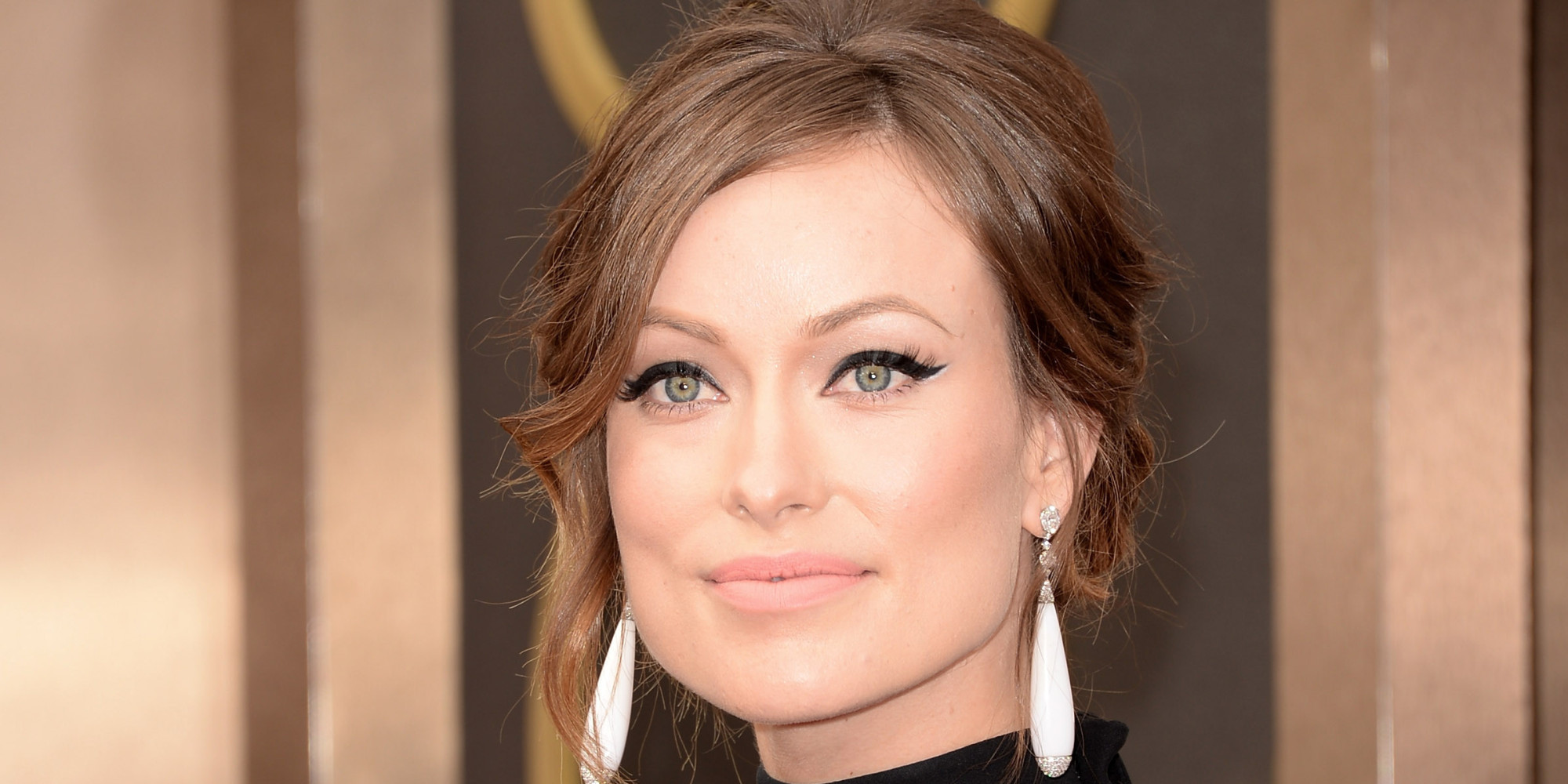 Olivia Wilde's Oscar Dress 2014 Shows Off Her Blossoming Belly (PHOTOS ... Olivia Wilde