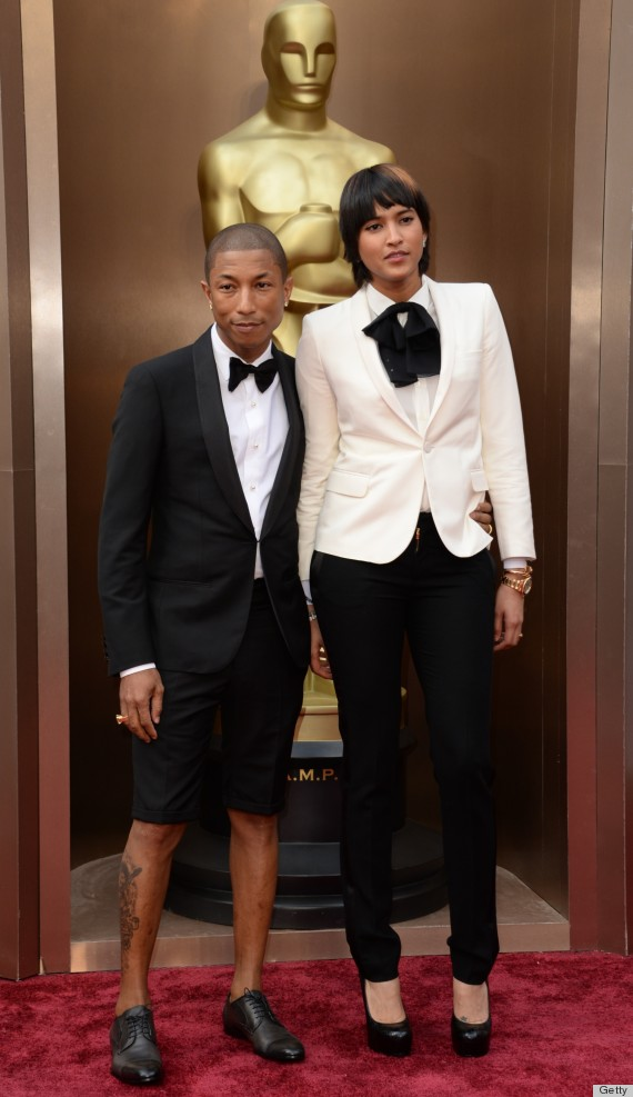 Pharrell's Shorts Tuxedo Gives THAT Grammys Hat A Run For ...