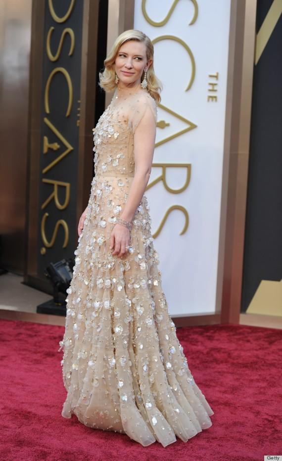 Cate Blanchett S Oscar Dress 2014 Is A Heavy Stunner