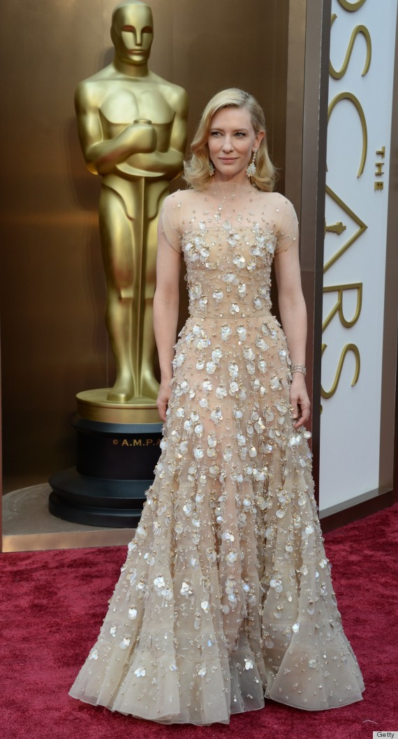 Cate Blanchett's Oscar Dress 2014 Is A 'Heavy' Stunner ...