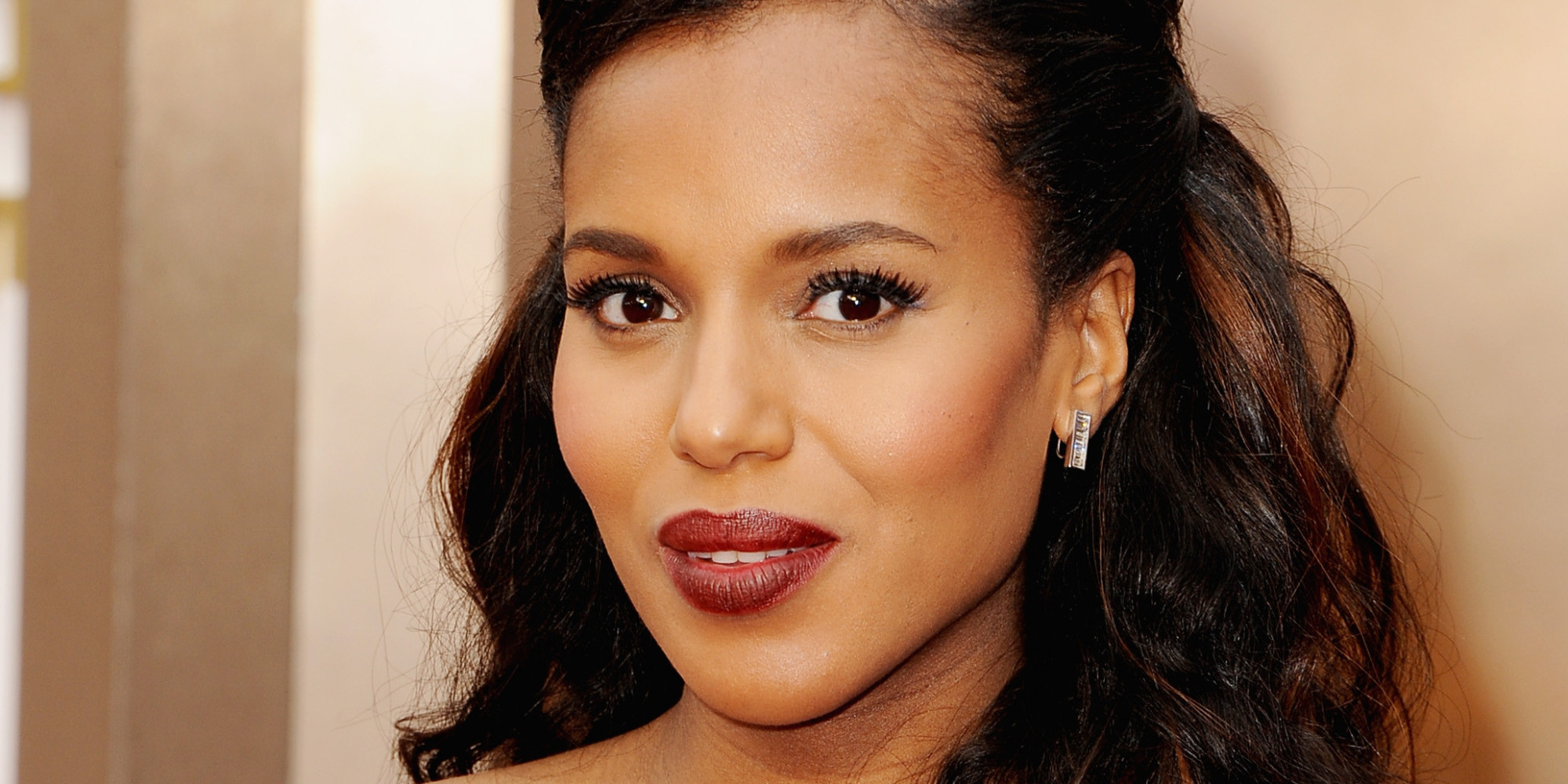 Kerry Washington Does Intense Scandal Episode Lawn Chair