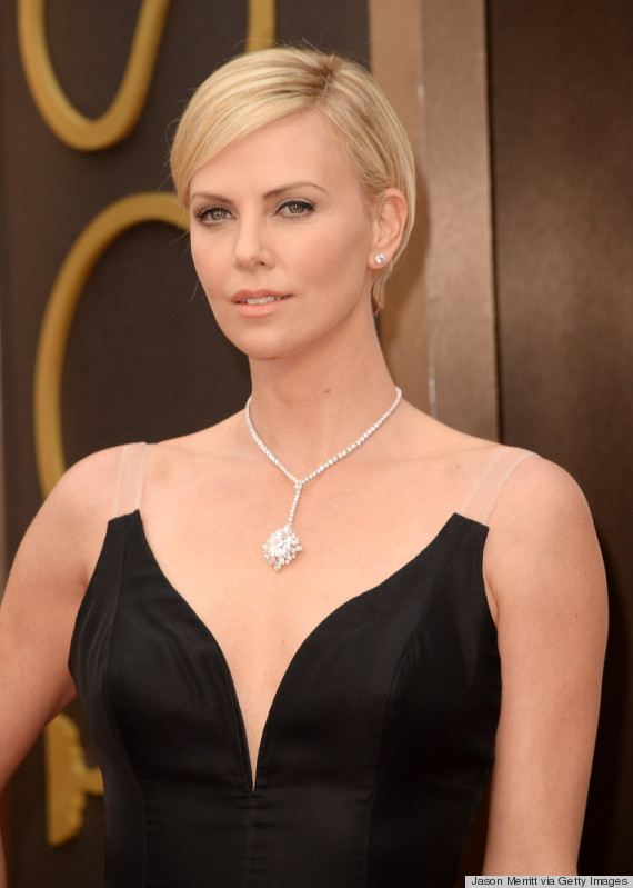 Charlize Theron's Oscar 2014 Dress Couldn't Get Anymore ...