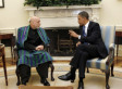 Karzai, Obama Meeting In The White House To Discuss Afghanistan