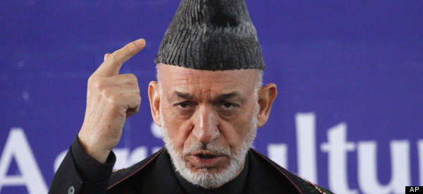 Karzai Expresses Anger At U.S. Gov't In Emotional Interview
