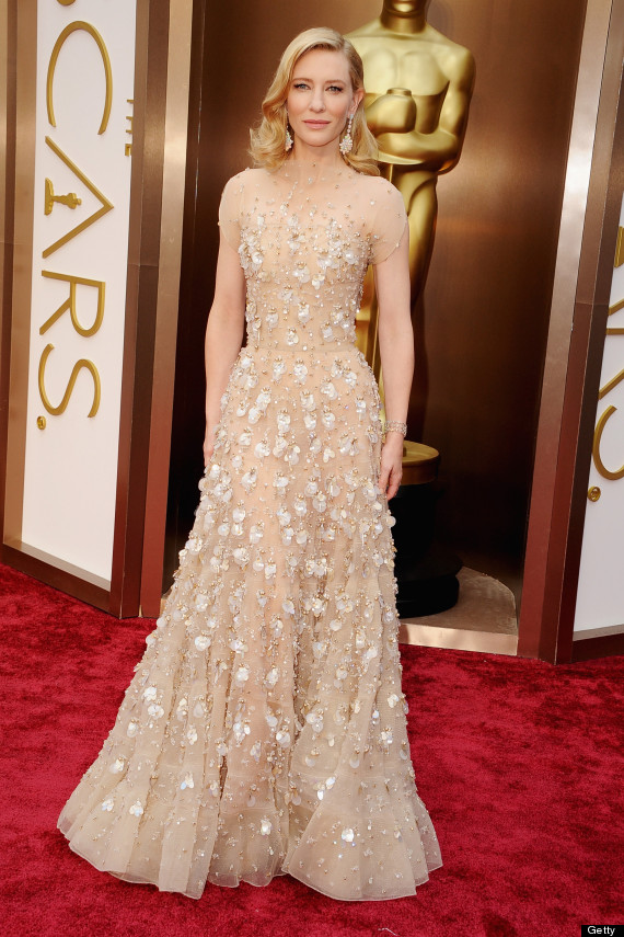 cate blanchett oscar dress 2014