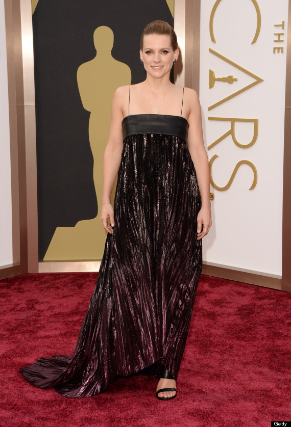 veerle baetens oscar dress 2014