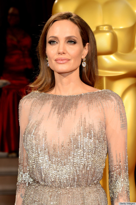 Angelina Jolie S Oscar Dress 2014 Is Beyond Breathtaking
