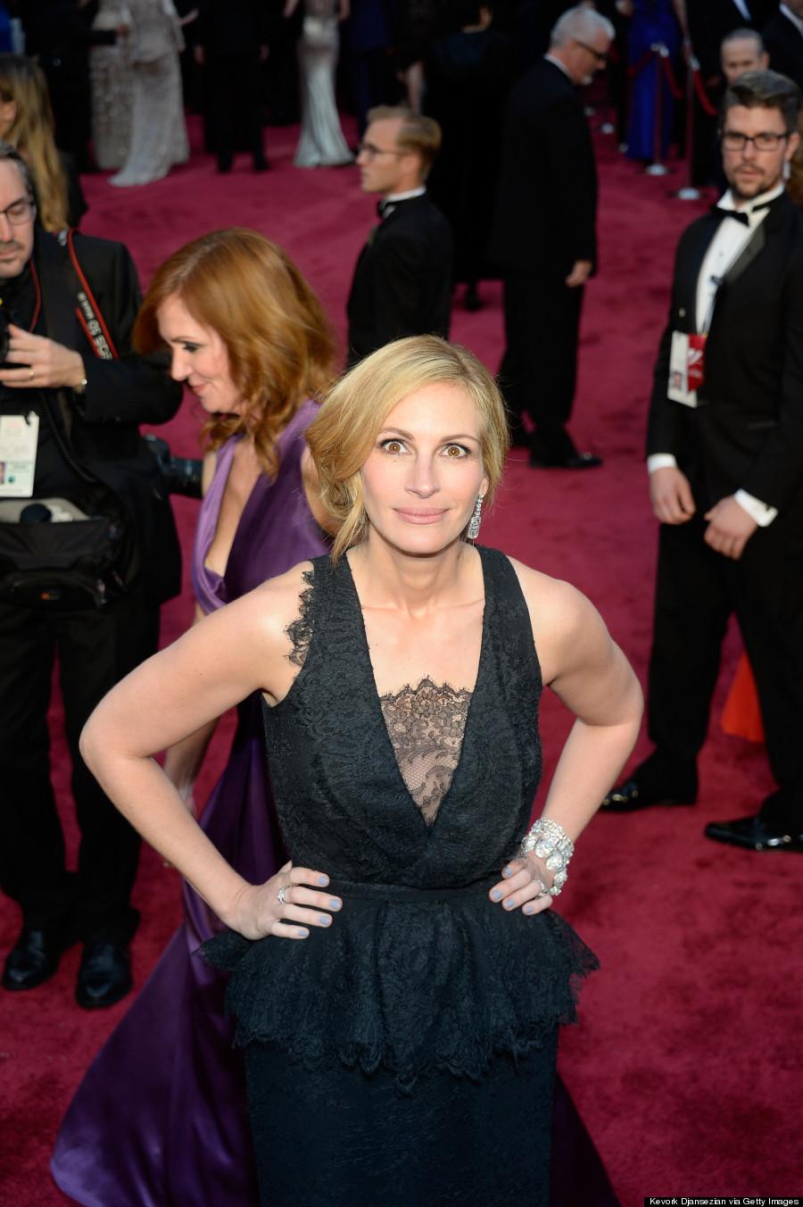 Julia Roberts Hair Color On Ellen - Viewing Gallery Brad Pitt News