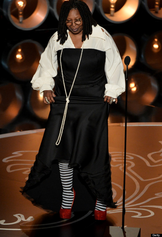whoopi goldberg oscars dress 2014
