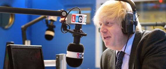 BORIS JOHNSON LBC
