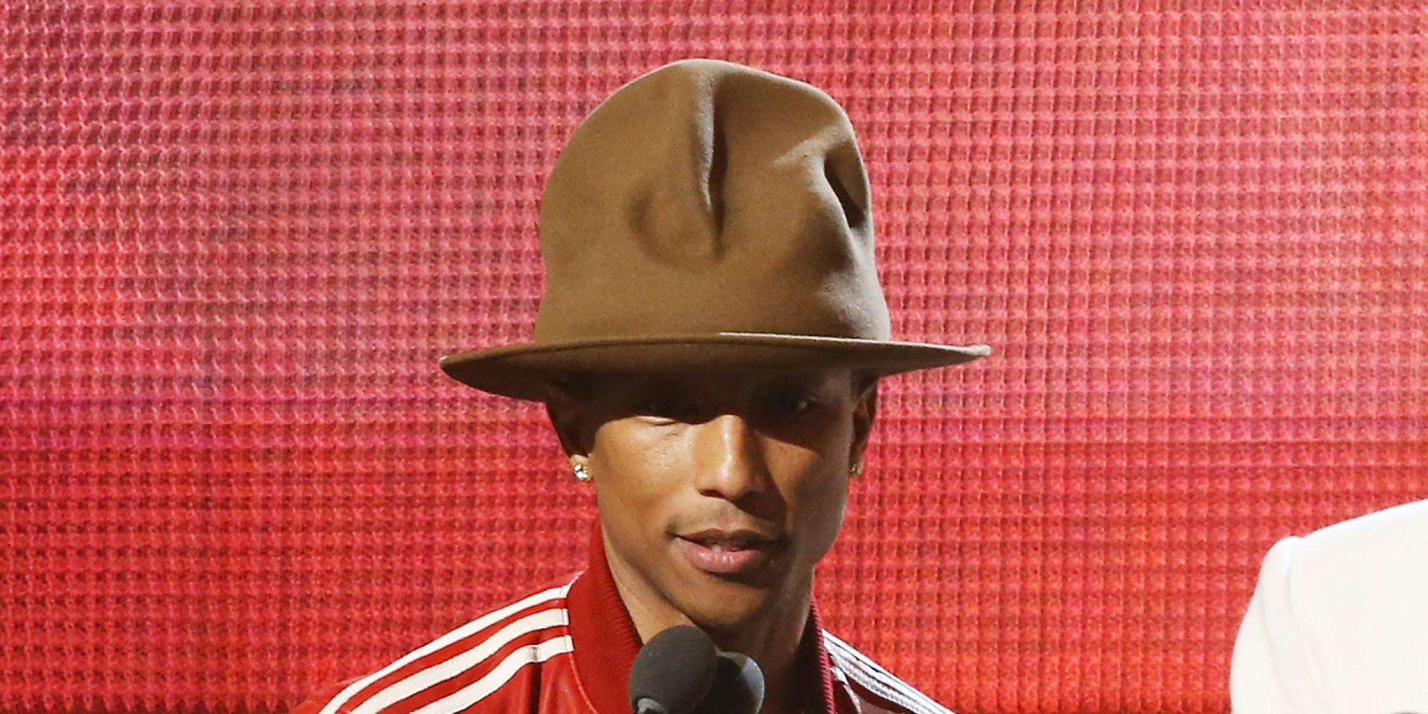 Pharrell Hat Auction Pharrell's Grammy Hat Sold to