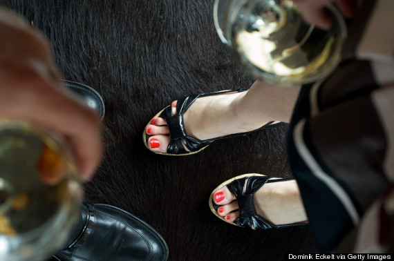 woman party heels