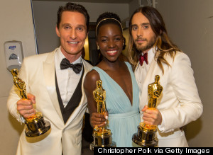 oscars backstage