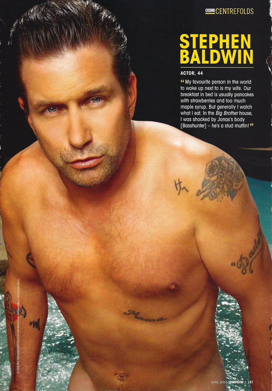 Stephen Baldwin Naked: Nude Photoshoot Along With Jesse Metcalfe