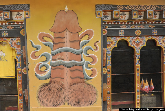 In Bhutan Phallus Worship Revives Among New Generation Of Religious