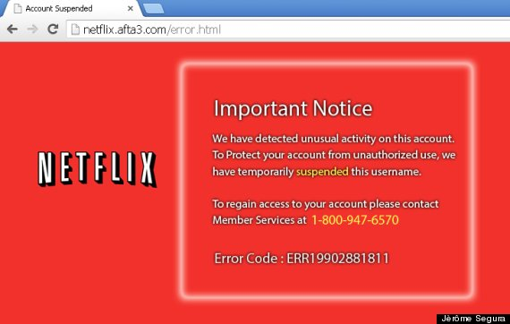 Phishing Scam Targeting Netflix May Trick You With Phony Customer ...