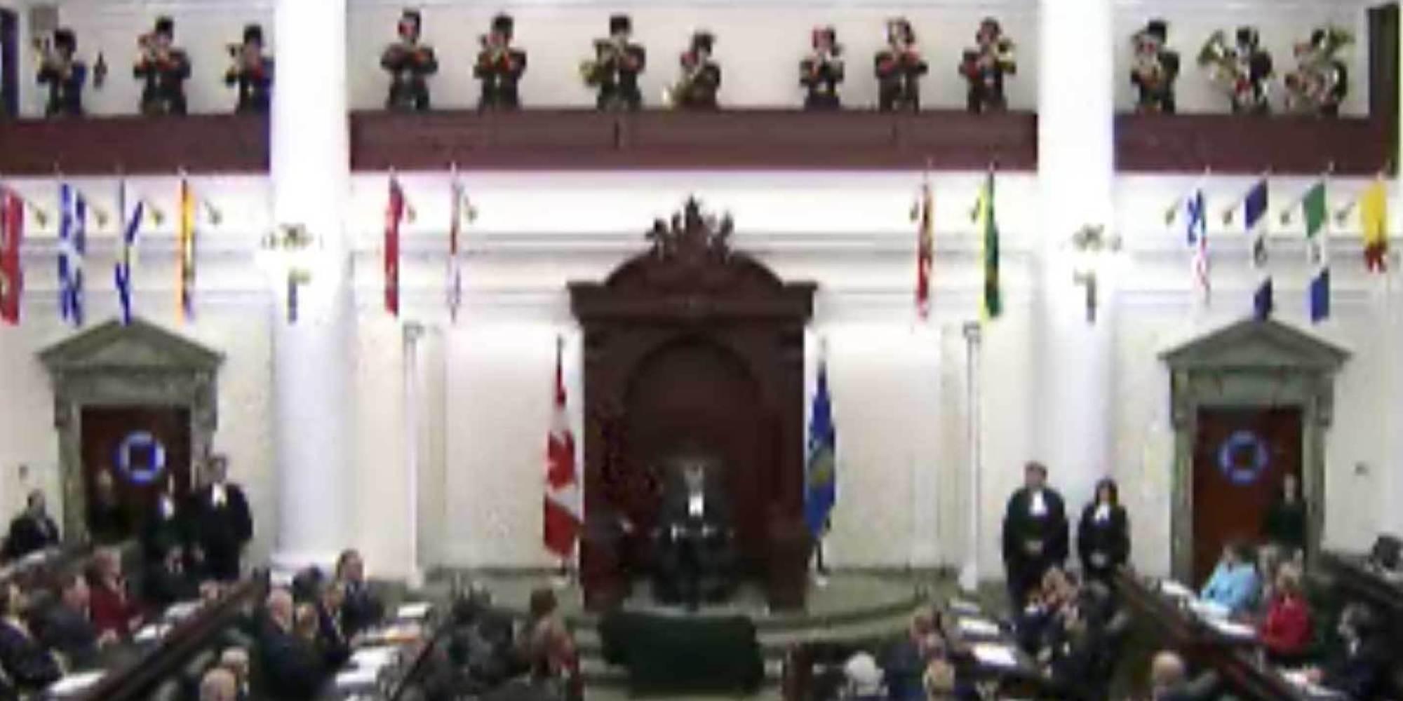 Alberta Throne Speech 2014 Promises Renewed Funding For Cities