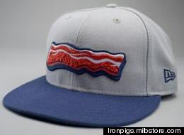 Minor League Baseball Team Sports Bacon-Themed Uniforms