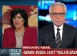 Christiane Amanpour Scolds Wolf Blitzer: 'You Have To Be Really Careful' About Ukraine Facts
