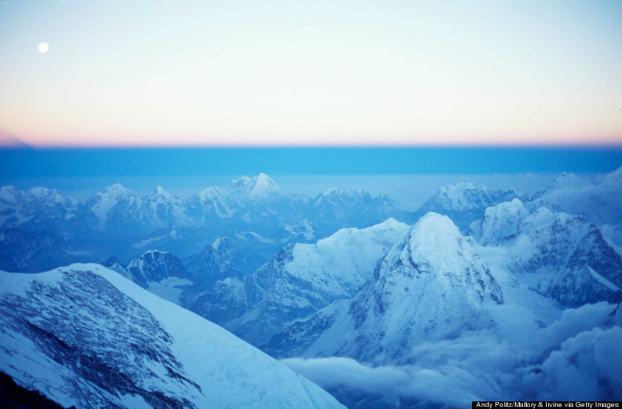 top of mt everest