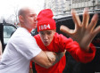 Justin Bieber Lunges At Paparazzi, Has To Be Restrained By His Own Bodyguard (PHOTOS)