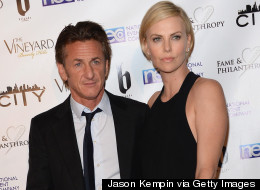 Charlize Theron And Sean Penn Party With His Ex-Wife, Madonna