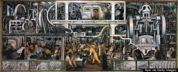 11 remarkable ways detroit changed the world for the for Diego rivera rockefeller center mural
