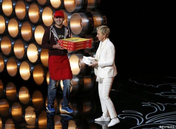 pizza oscar 2014