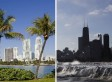Chicago And Miami Had WILDLY Different Winters
