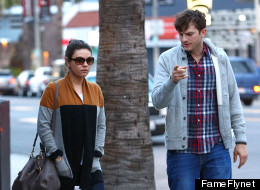 Mila Kunis And Ashton Kutcher Step Out Post-Engagement