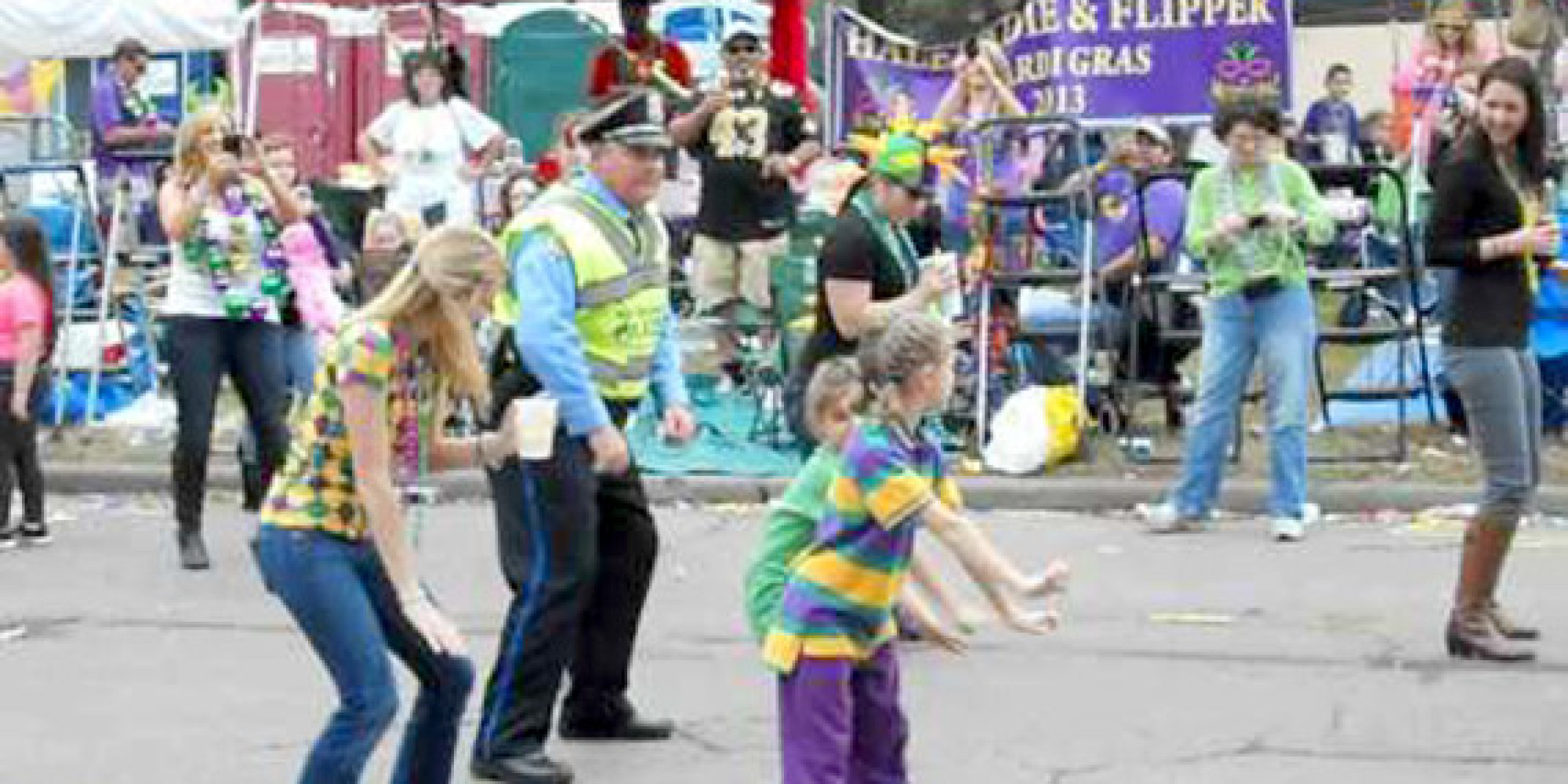 New orleans police detective gets down with the wobble for Police orleans