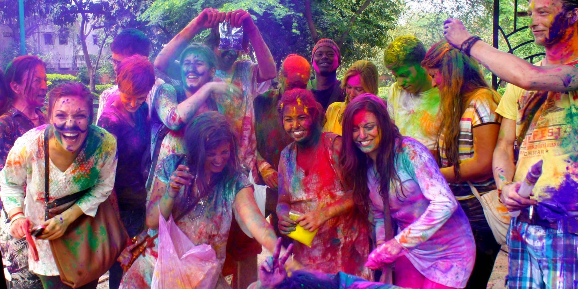 essay on holi festival to