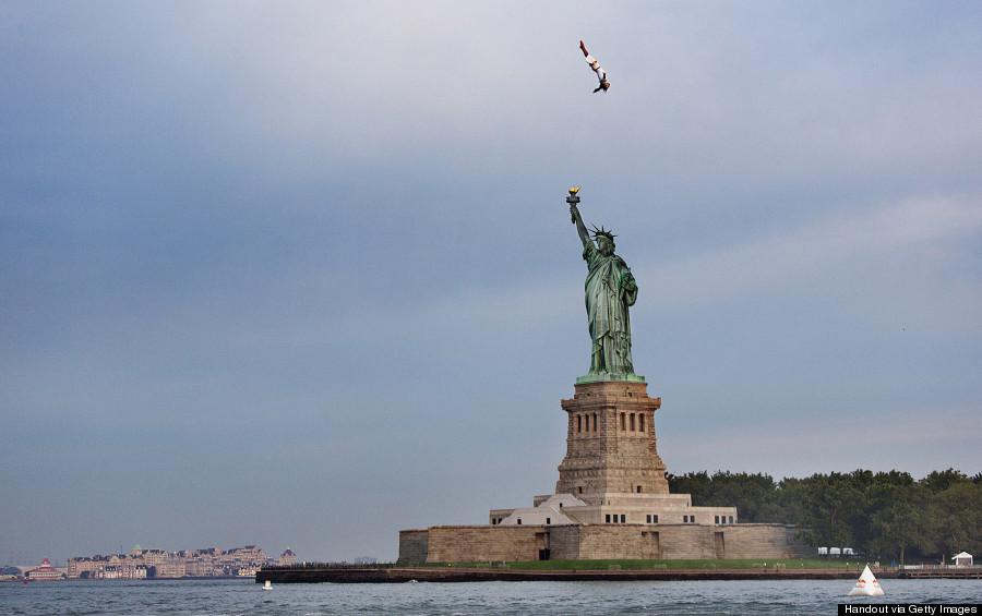 red bull orlando statue of liberty