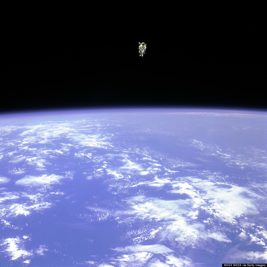 bruce mccandless space walk
