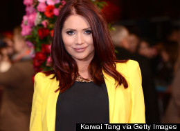 Amy Childs Denies Relationship With 'The Jump' Co-star