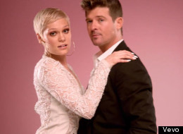 Look Who's Cosying Up To Robin Thicke Now