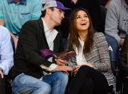 Mila Kunis Flashes HUGE Engagement Ring